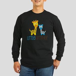 GiraffeLittleBrotherV2 Long Sleeve Dark T-Shirt