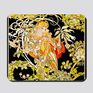 !  90% SUEDE MUCHA-MARG Mousepad