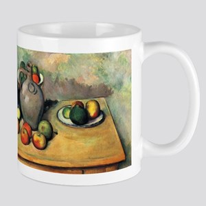 Still life - pitcher and fruit on a table - Paul C
