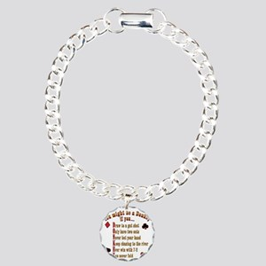 DONKEY_final  Charm Bracelet, One Charm