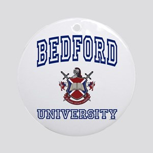 BEDFORD University Ornament (Round)