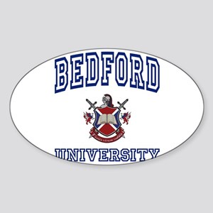 BEDFORD University Oval Sticker