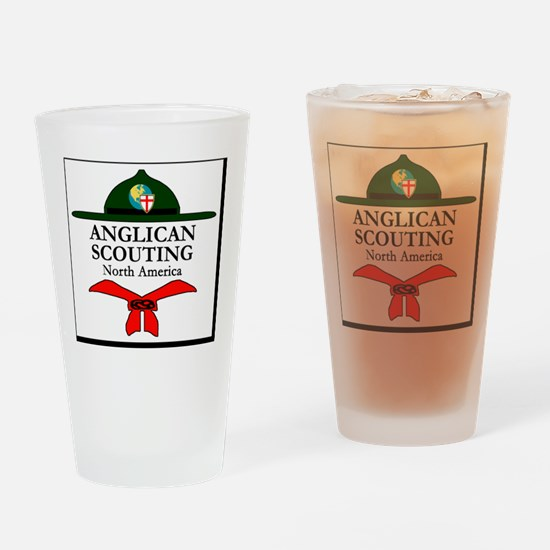 Anglican Scouting North America Log Drinking Glass