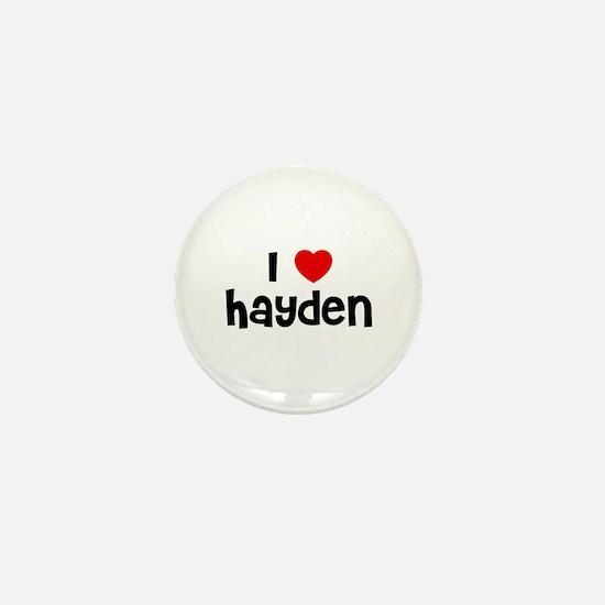 I * Hayden Mini Button