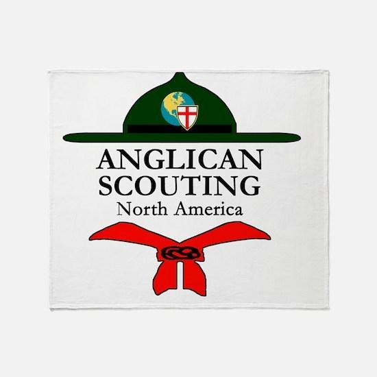 Anglican Scouting NA No Border 12-15 Throw Blanket