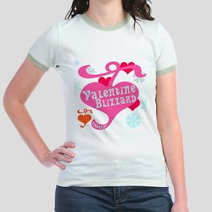Valentine Blizzard Jr. Ringer T-Shirt