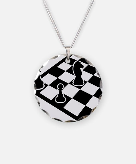 chess_field_w_figures Necklace