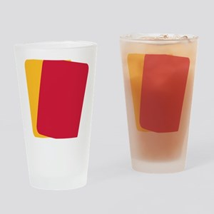 soccer_cards Drinking Glass