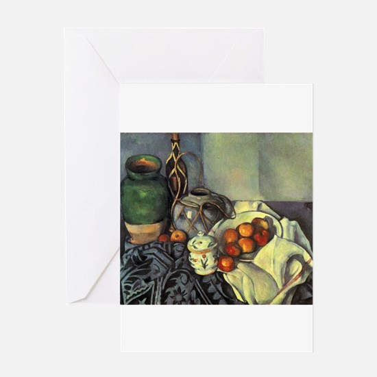 Still Life with Apples - Paul Cezanne - c1893 Gree