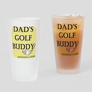 dads golf buddy Drinking Glass