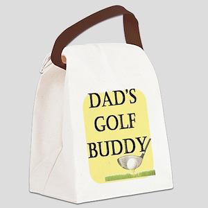 dads golf buddy Canvas Lunch Bag