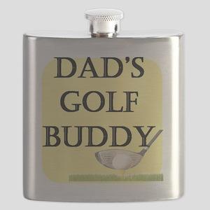 dads golf buddy Flask