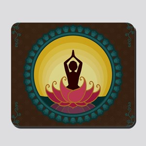 Sunrise Yoga Art Mousepad