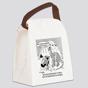 7190_archaeology_cartoon Canvas Lunch Bag