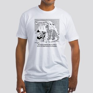 7190_archaeology_cartoon Fitted T-Shirt