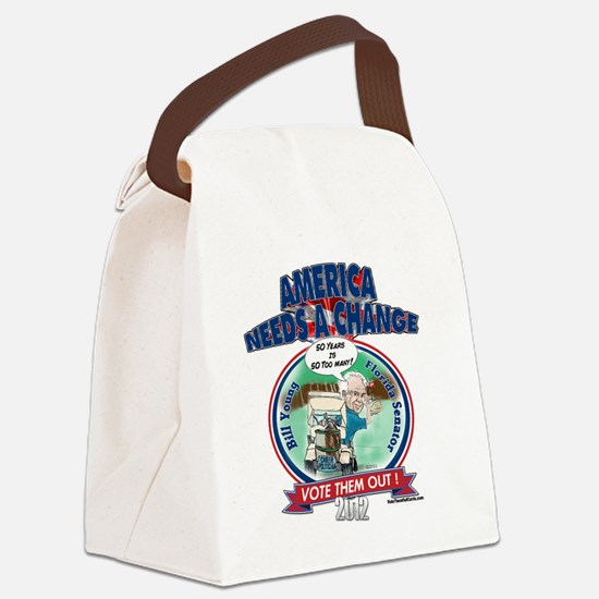 BillYoungT Canvas Lunch Bag