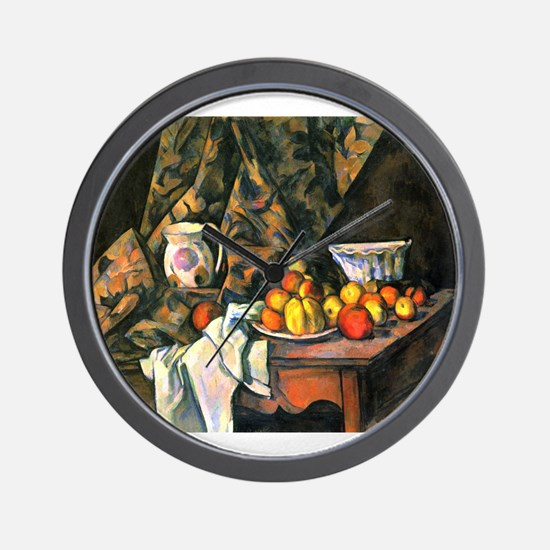 Still life with apples and peaches - Paul Cezanne