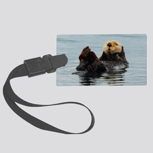 385x245_wallpeel_otter_2 Large Luggage Tag
