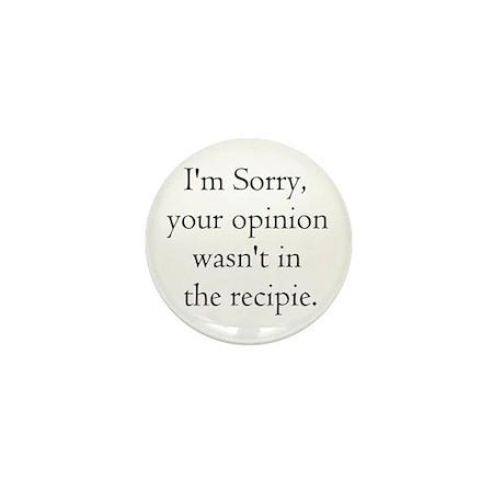 Cooking Humor Mini Button