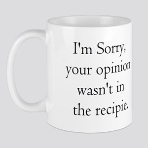 Cooking Humor Mug