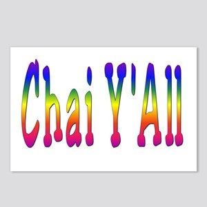Chai Y'All Postcards (Package of 8)