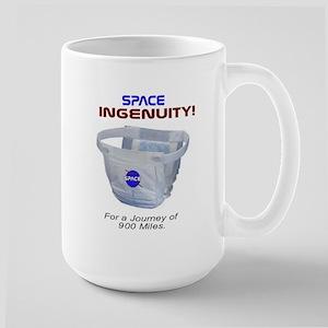 Space Diapers Large Mug