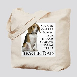 Beagle Dad Tote Bag