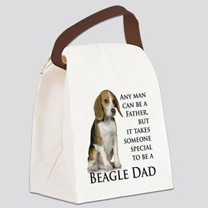 Beagle Dad Canvas Lunch Bag