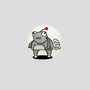I Pooped Today! Funny Robot Mini Button