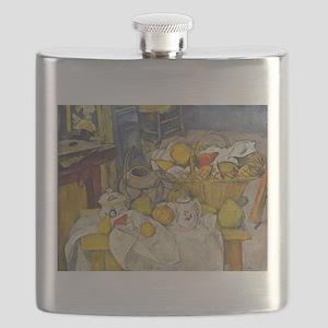 Still life with fruit basket - Paul Cezanne - c188
