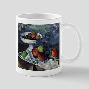 Still life with fruit bowl - Paul Cezanne - c1879
