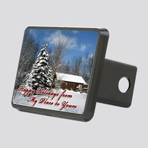 christmas-card Rectangular Hitch Cover
