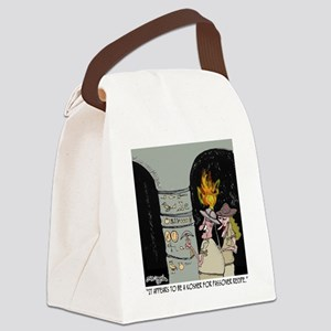 3959_kosher_cartoon Canvas Lunch Bag