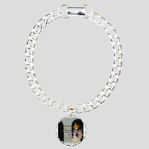3959_kosher_cartoon Charm Bracelet, One Charm