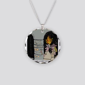 3959_kosher_cartoon Necklace Circle Charm