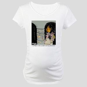 3959_kosher_cartoon Maternity T-Shirt