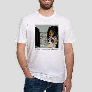 3959_kosher_cartoon Fitted T-Shirt