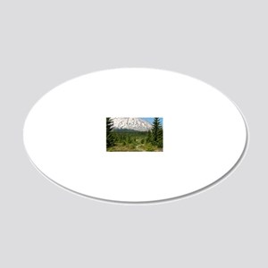 00-WNWtrails-cover 20x12 Oval Wall Decal