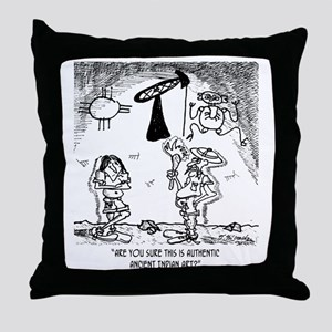 1624_pictograph_cartoon Throw Pillow