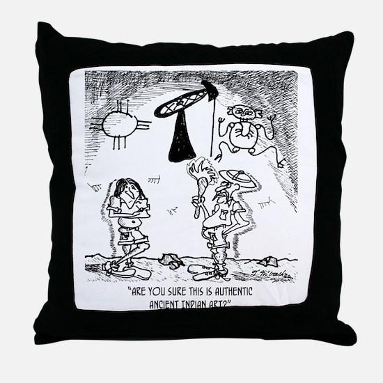 1624_pictograph_cartoon Throw Pillow