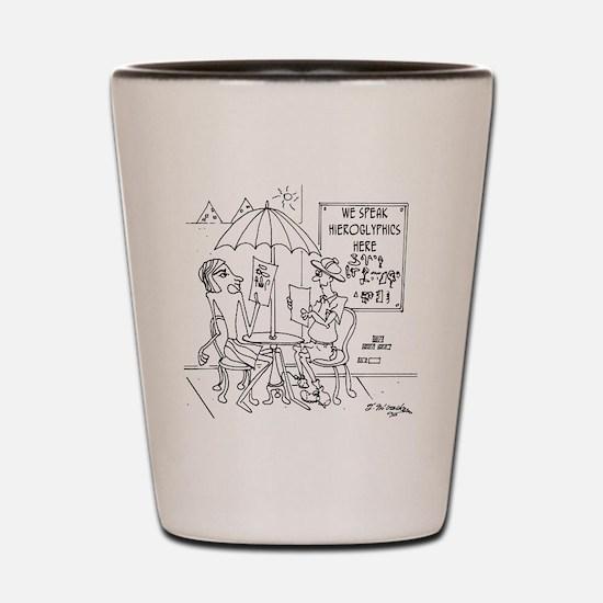 6761_archaeology_cartoon Shot Glass