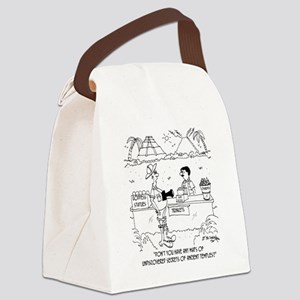 6849_mayan_cartoon Canvas Lunch Bag