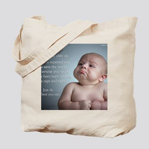 just do the best you can 8 x 10 Tote Bag