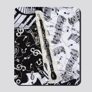 english-horn-ornament Mousepad