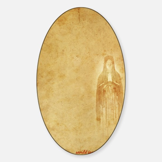 Mary-inquisition Sticker (Oval)