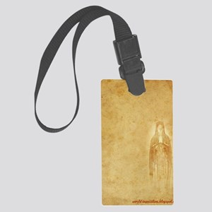 Mary-inquisition Large Luggage Tag