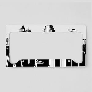 Austin Skyline License Plate Holder