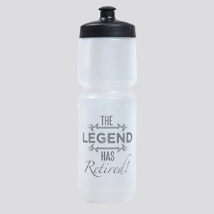 The Legend Has Retired Sports Bottle