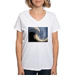 Camp Sunset 3 Women's V-Neck T-Shirt