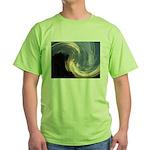 Camp Sunset 3 Green T-Shirt